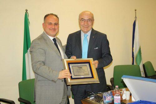 Incontro con il Presidente Michele Barbone